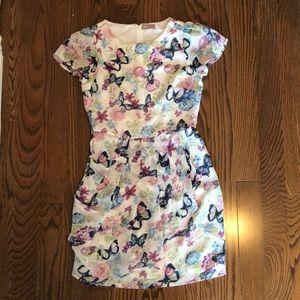 ASOS A Wear dress in butterfly print